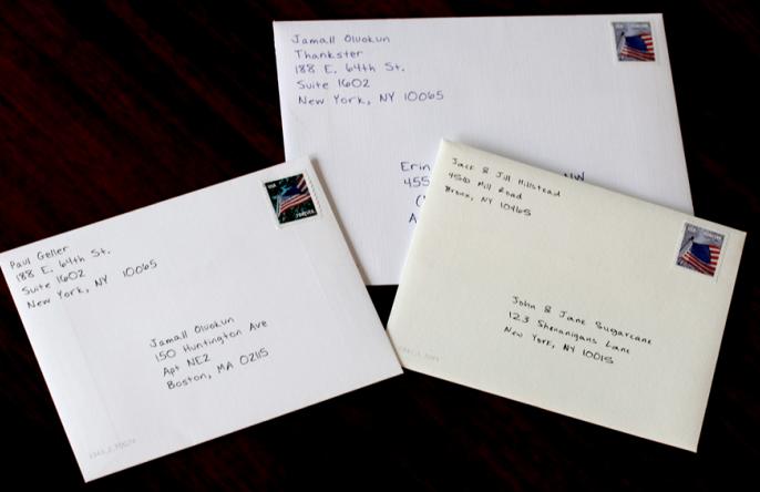 Triggered Cards envelopes, complete